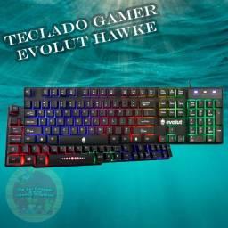 Título do anúncio: Teclado Gamer Evolut Hawke