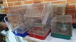 Vendo 3 gaiolas pra ratinho