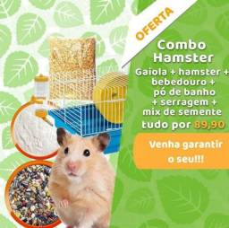 Título do anúncio: Kit Promocional Hamster