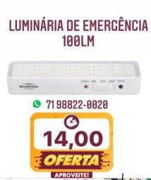 Título do anúncio: LUMINÁRIA DE EMERGÊNCIA 100LUMENS