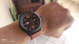 Título do anúncio: Relógio Masculino Estilo Retrô Naviforce Pulseira em Couro