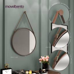 Título do anúncio: Espelho grande decorativo 58 cm