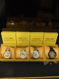 Relógios de luxo com caixa