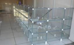 Título do anúncio: loja de vidro estrutura completa