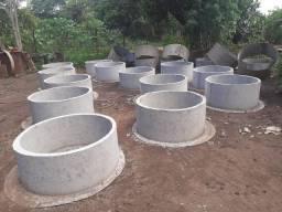 Manilhas para cisternas e fossa
