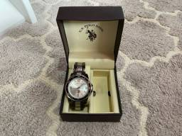Título do anúncio: Relógio original usado US Polo masculino
