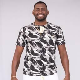 Camisa Estampada Masculina Laporem