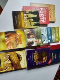 Combo de 10 Livros de Excelência preço Ótimo!