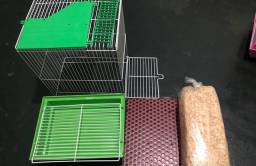 Vendo gaiola de 2 andares para roedores.