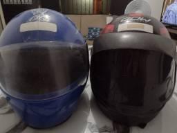 Otimos capacete usados