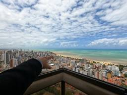 Título do anúncio: Apartamento em João Pessoa, planta livre de 414m2, Vista definitiva para o mar!