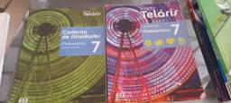 Livro de matemática projeto teláris 7
