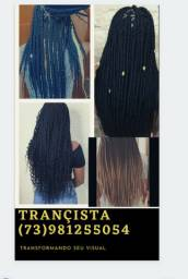 Trança box braids