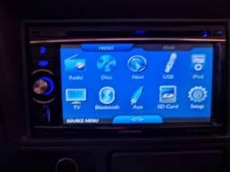 Título do anúncio: Multimidia Positron GPS, TV Digital, usb, Bluetooth 2 din