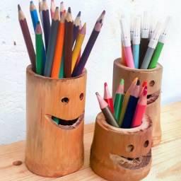 Organizador de Material Escolar e Pintura