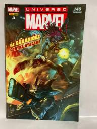 Hq Universo Marvel - N° 03 Os Guardiões contra-atacam