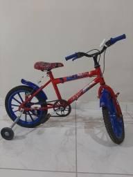Título do anúncio: Bicicleta Infantil Homem Aranha