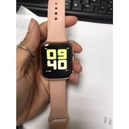 Título do anúncio: SmartWatch X7 ROSA/ROSE - Relógio Inteligente X7 VERSÃO ATUALIZADA 2021