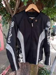 R$ 350 Conjunto Feminino Joe Rocket Tam M para Moto