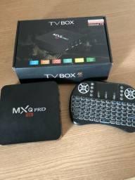 Tv BOX PRO 16GB com controle teclado- somente venda - NÃO ENTREGO