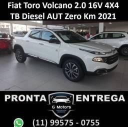 Fiat Toro Volcano 2.0 16V 4X4 TB Diesel AUT Zero Km 2021 Pronta entrega