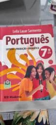 Livro de português 7 ano - Editora Moderna