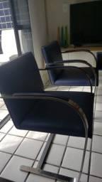 Título do anúncio: Duas cadeiras BRNO (Aço Inox)