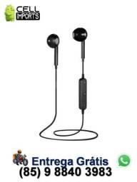 Título do anúncio: Fone Bluetooth S6 Entrega Grátis