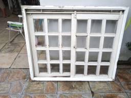 Porta + janela de Angelim