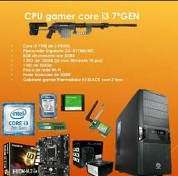 Título do anúncio: CPU GAMER CORE I3 7° GERACAO SEMI NOVO