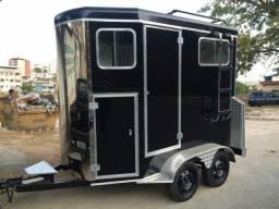 Carretinha Luxo para Transporte 2 Animais
