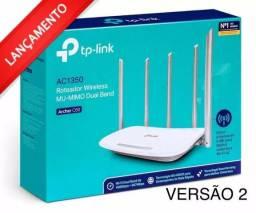 Roteador Wi-fi Tp-link Archer C60 Dual Band Ac 1350 Mbps V.2