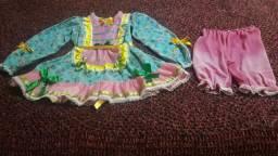 Vestido caipira ou festa junina