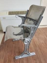 Cadeiras de Bonde , 04 lindas originais, raríssimas de museu