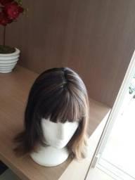 Peruca: cabelos naturais