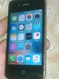 Iphone 4 16gigas impecável 250,00