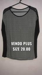 Blusas Plus size