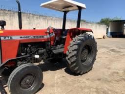 Trator de pneus massey ferguson 275 1997