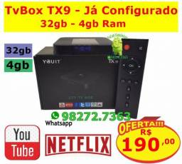 TvBox TX9 Android 9/ 32gb - 4gb Ram