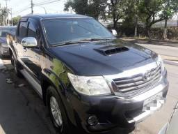 Hilux 3.0 srv 12/12 automatic turbo diesel top - 2012