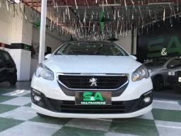 PEUGEOT 308 2017/2017 1.6 ALLURE THP 16V FLEX 4P AUTOMÁTICO - 2017