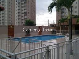 Em Morada de Laranjeiras, cond. Via Parque apto 2 quartos com varanda