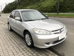Civic Lx mecânico no GNV 2004 - 2004