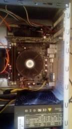 Placa mae kronnus, I3 2100, GeForce 9500 GT 1Gb e 4 GB ram