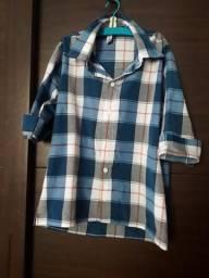 2 camisas tam 10 anos