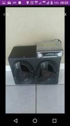 Buster mp3 e cd player+ caixa acústica