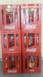 Vasilhame Coca-Cola 2l retornável com caixa comprar usado  Mogi das Cruzes