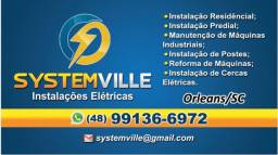Serviços eletricos - orleans e regiao