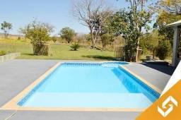 Linda chácara c/piscina aquecida, campo de futebol em Caldas Novas. Cód 1010