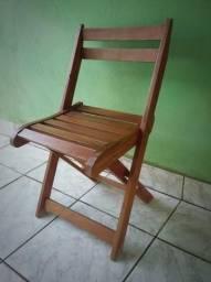 1 Cadeira de Madeira Simples (Ji-Paraná)